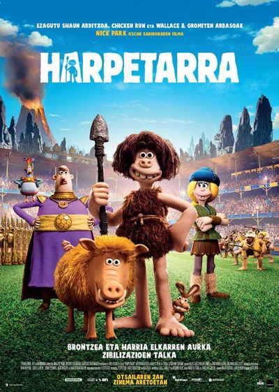 Harpetarra (Early man )